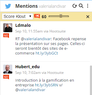 Mentions60klout