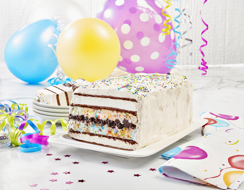 Recette: Gâteau bonanza à la crème glacée