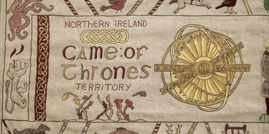 Un tissage de glace et de feu: une magnifique tapisserie met en relief les liens de l'Irlande du Nord avec Game of Thrones®