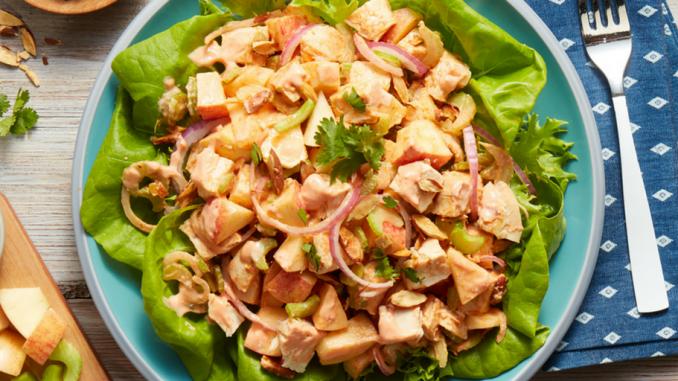 Recette : Salade de poulet au cari