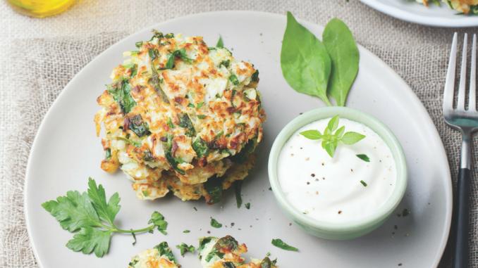 Recette: Beignets aux légumes sans gluten