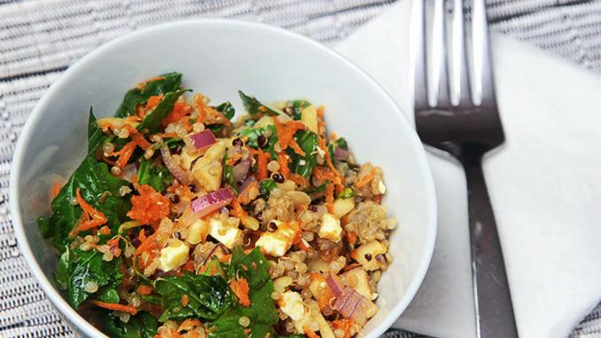 Recette : Salade automnale idéale pour le lunch