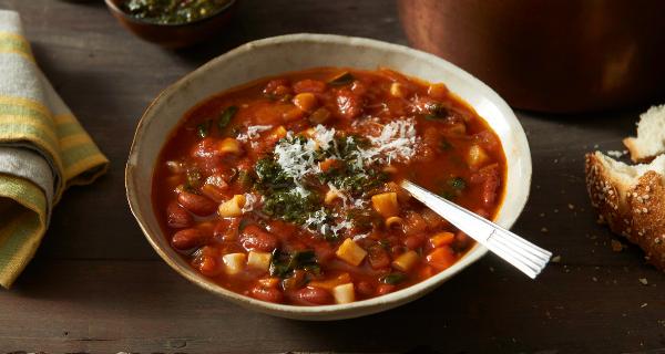 Recette : Soupe minestrone balsamique